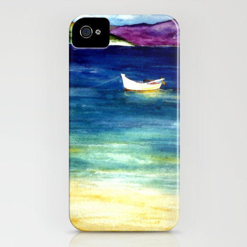 iPhone Case Jamaica - Caribbean Painting - Designer iPhone Samsung Case - Brazen Design Studio