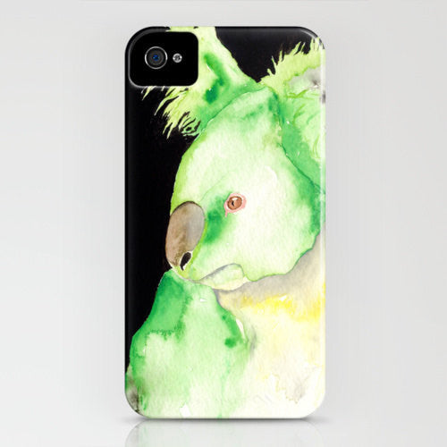 Koala Phone Case   Australian Wildlife Painting...