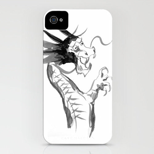 iPhone Case Chinese Zodiac Dragon Painting - Designer iPhone Samsung Case - Brazen Design Studio