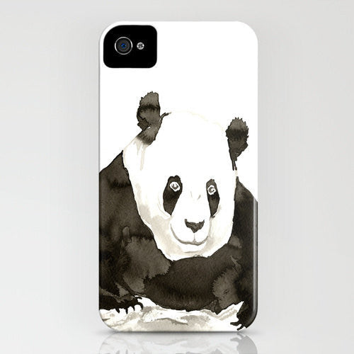 Giant Panda Phone Case - Ink Painting - Designer iPhone Samsung Case - Brazen Design Studio