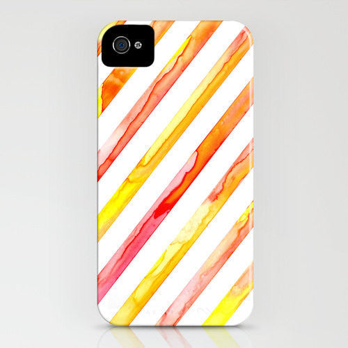 Geometric Phone Case - Diagonal Lines - Abstract Art - Designer iPhone Samsung Case - Brazen Design Studio