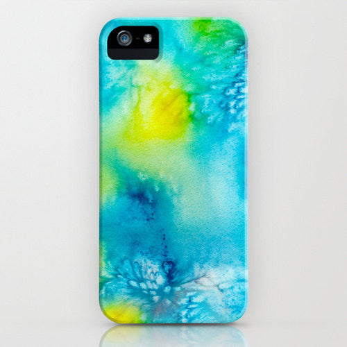 I Phone Case Abstract Watercolor Painting  ...