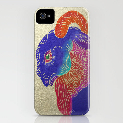 Year Of The Ram Phone Case   Wildlife Painting ...
