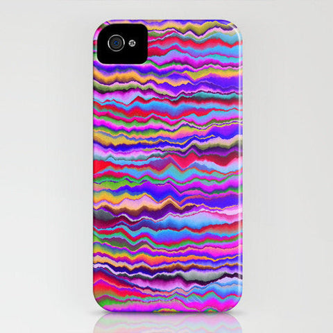 Geometric Horizontal Lines Phone Case - Pattern Abstract Painting - Designer iPhone Samsung Case - Brazen Design Studio