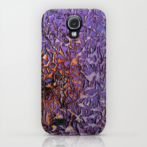 Peeled Paint Abstract Phone Case - Texture Painting - Designer iPhone Samsung Case - Brazen Design Studio
