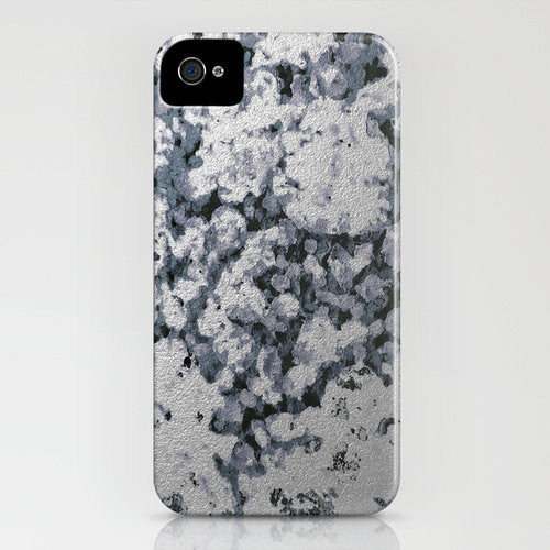 Silver Sidewalk Painting Abstract Phone Case - - Designer iPhone Samsung Case - Brazen Design Studio