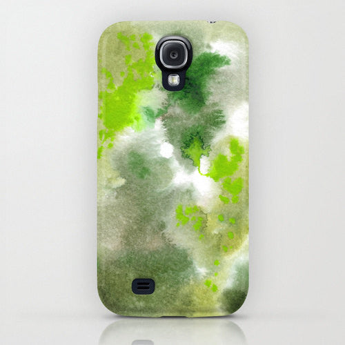 Phone Case  - Camo Woodland Forest Painting - Designer iPhone Samsung Case - Brazen Design Studio