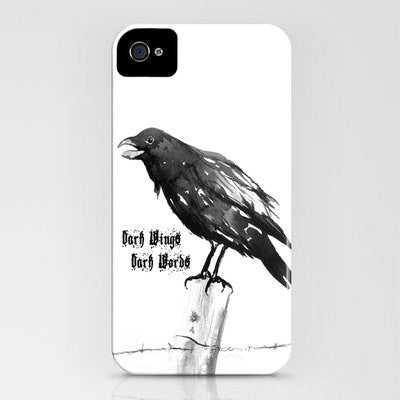 Game of Thrones iPhone 7 Case - Dark Wings Dark Words - Designer iPhone Samsung Case - Brazen Design Studio