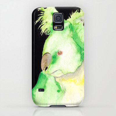 Koala Phone Case - Australian Wildlife Painting - Designer iPhone Samsung Case - Brazen Design Studio