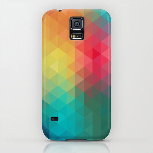 Geometric Prism Art Phone Case - Designer iPhone Samsung Case - Brazen Design Studio