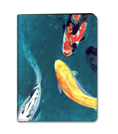 Koi iPad Mini iPad Air Hard or Folio Case - Koi Fish Art - Designer Device Cover - Brazen Design Studio