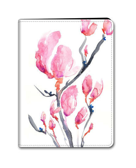 Floral Magnolia iPad Mini iPad Air Hard or Folio Case - Designer Device Cover - Brazen Design Studio