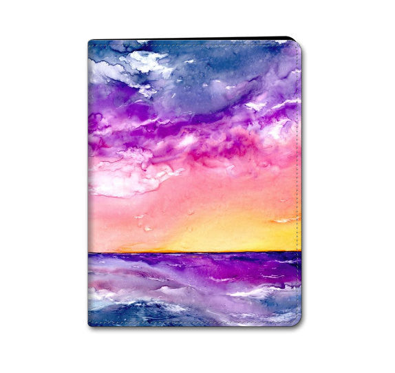 Tormenta Seascape iPad Hard or Folio Case - Tormenta Seascape - Designer Device Cover - Brazen Design Studio