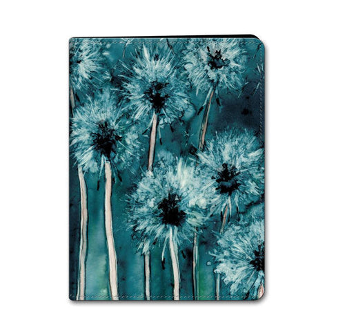 Floral iPad Mini iPad Air Hard or Folio Case - Dandelion Wishes - Designer Device Cover - Brazen Design Studio