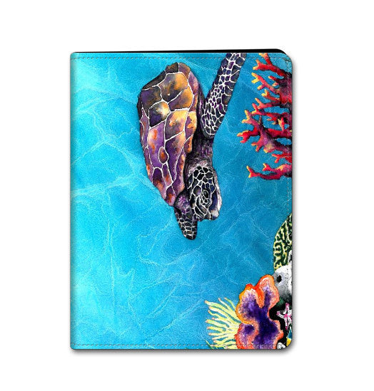 iPad Mini iPad Air Hard or Folio Case - Sea Turtle Art - Designer Device Cover - Brazen Design Studio