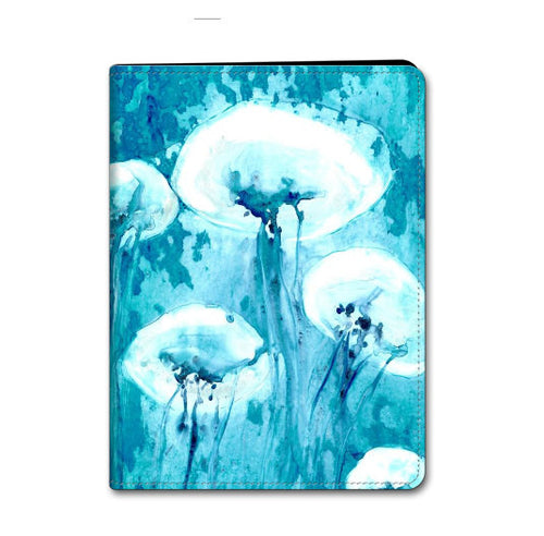 Jellyfish iPad Mini iPad Air Hard or Folio Case - Wildlife Ocean Art - Designer Device Cover - Brazen Design Studio