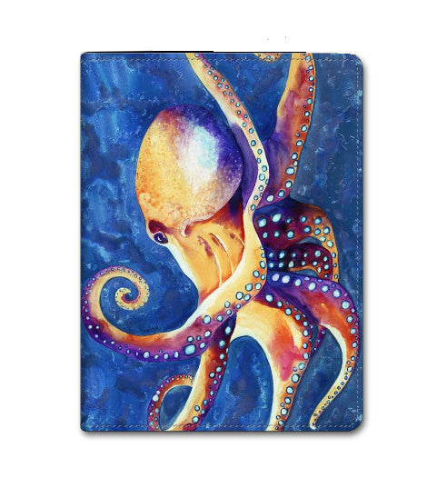 Octopus Art - iPad Hard or Folio Case - Designer Device Cover - Brazen Design Studio