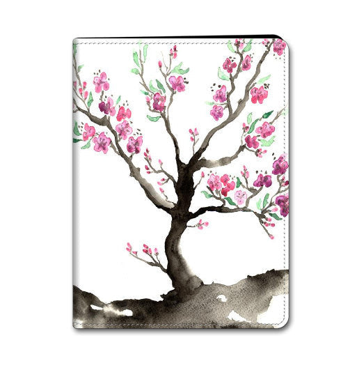Floral Cherry Tree iPad Hard or Folio Case - Sakura Art - Designer Device Cover - Brazen Design Studio