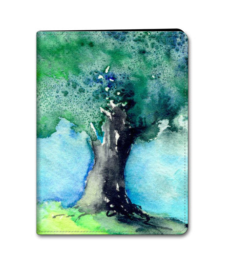 Tree Art iPad Mini iPad Air iPad 2 / 3 / 4 Hard Case - Oak Tree Painting - Designer Device Cover - Brazen Design Studio