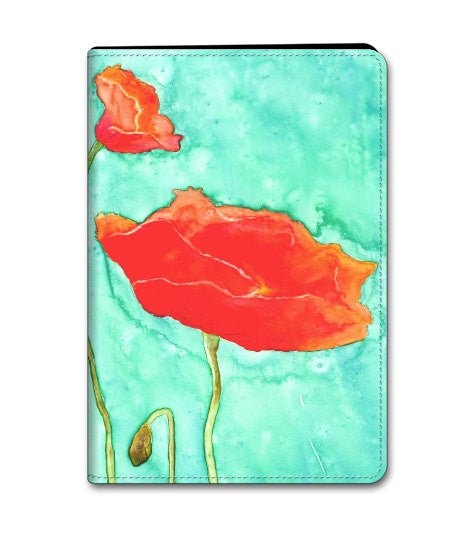 Poppy Trio iPad Air - iPad Mini Hard or Folio Case - Designer Device Cover - Brazen Design Studio