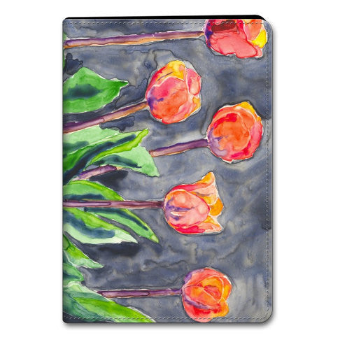 Floral Tulips iPad Hard or Folio Case - Designer Device Cover - Brazen Design Studio