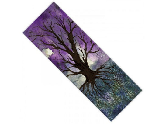 Yoga Mat Tree of Life Watercolor Painting - Exercise Mat - Brazen Design Studio