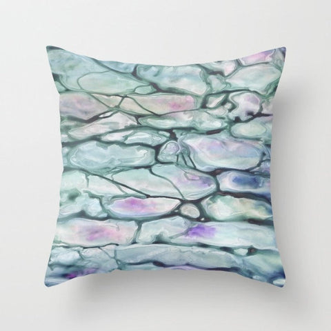 Decorative Pillow Cover - Abstract Art Invidia - Throw Pillow Cushion - Home Decor - Brazen Design Studio