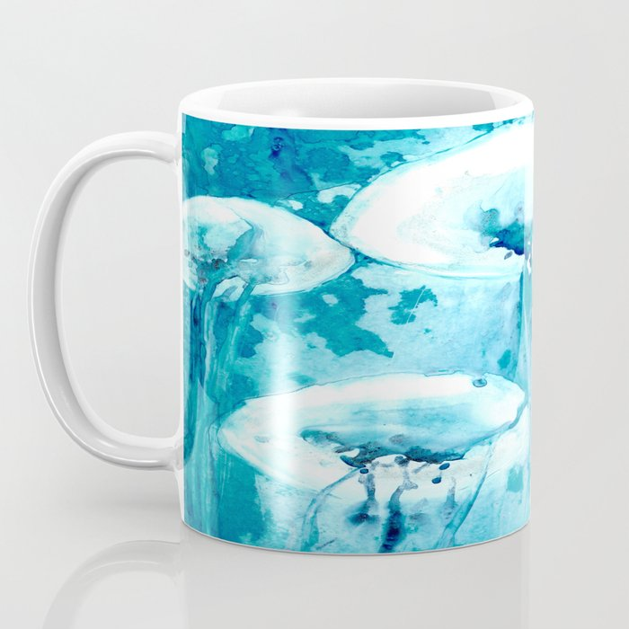 Jellyfish Ocean Life Coffee Mug - Kitchen Decor Mug Drinkware