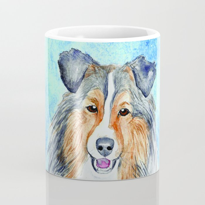 Collie Dog Coffee Mug - Kitchen Decor Mug Drinkware
