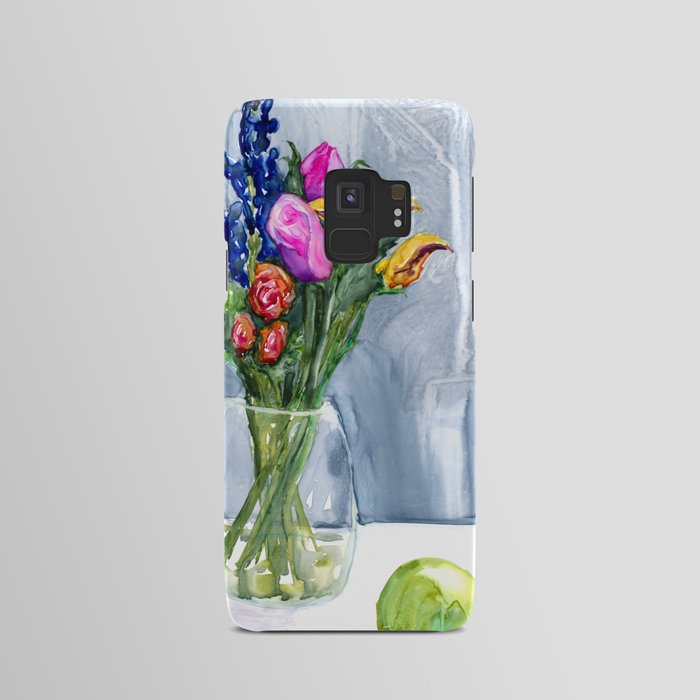 Bouquet of Flowers Phone Case - Still Life Painting - Designer iPhone Samsung Case