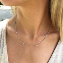 Load image into Gallery viewer, Nine Diamonds by the Yard Necklace