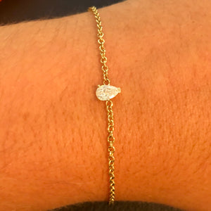 Dainty Fancy Shape Diamond Bracelet