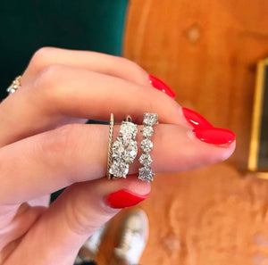 Eagle Prong Diamond Ring