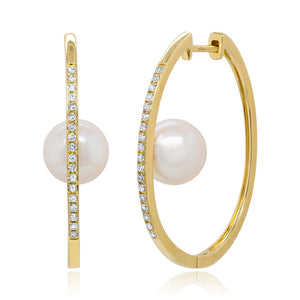 Diamond and Pearl Hoop
