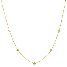 Load image into Gallery viewer, Gold Star Necklace