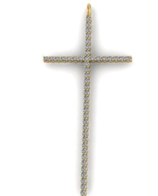 Thin Diamond Cross