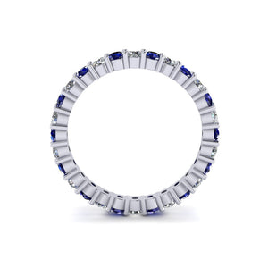 Diamond and Sapphire Band