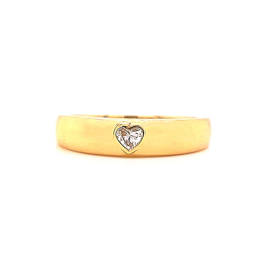 Fancy Shape Gold Band