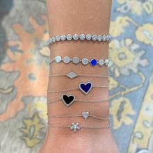 Load image into Gallery viewer, Lapis Heart Bracelet