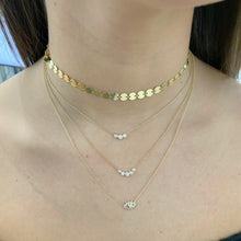 Load image into Gallery viewer, Gold Disc Choker