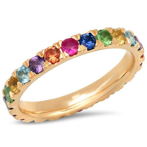 Large Multicolor Ring