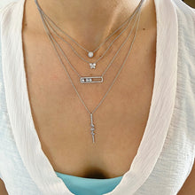 Load image into Gallery viewer, Diamond Halo Necklace