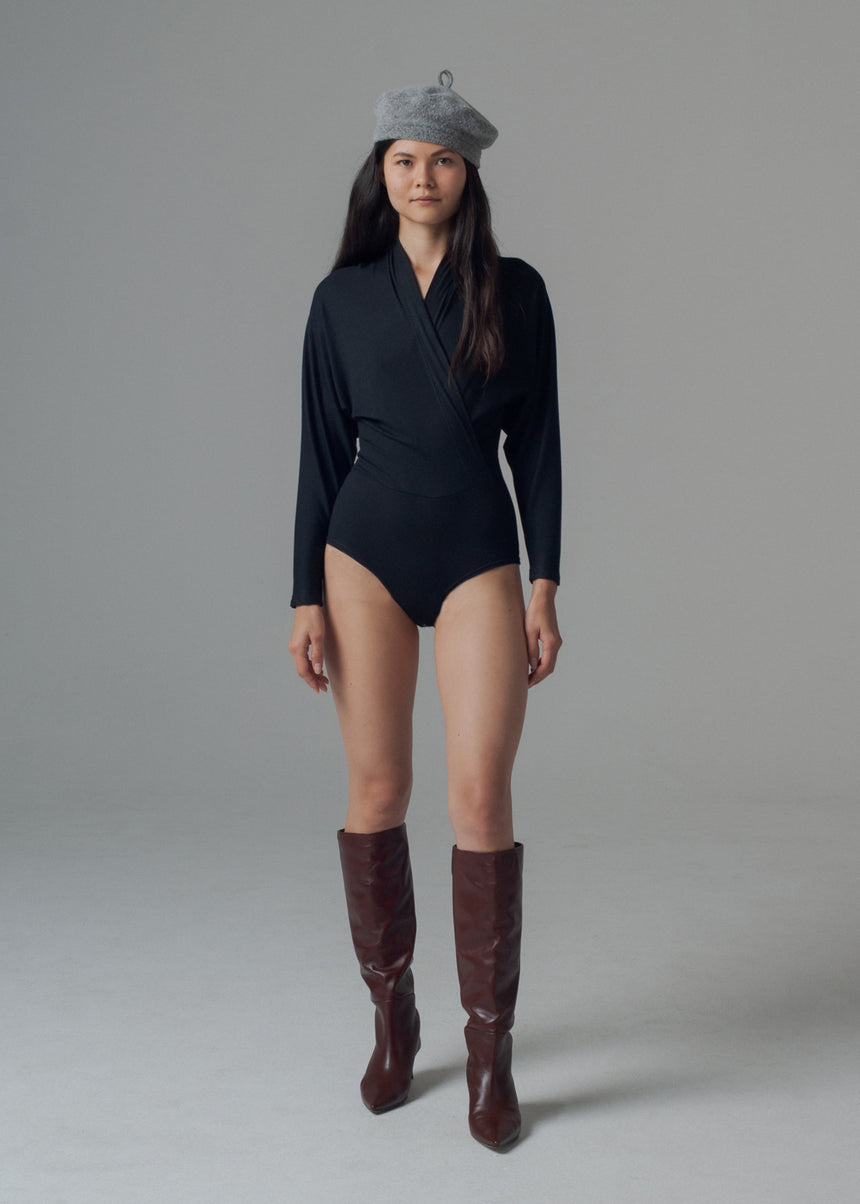 Nori Bodysuit in Black