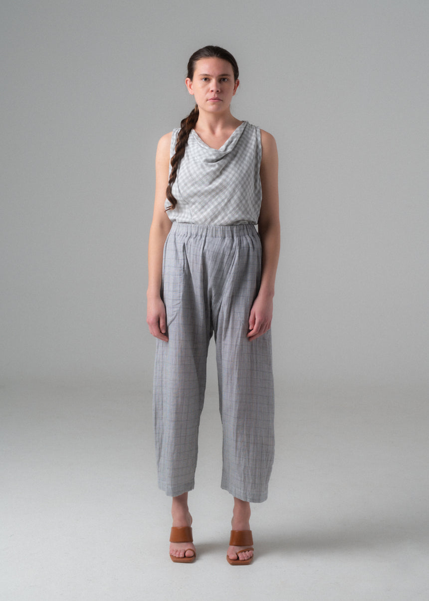 SAMPLE SALE - Noa Pant in Grid