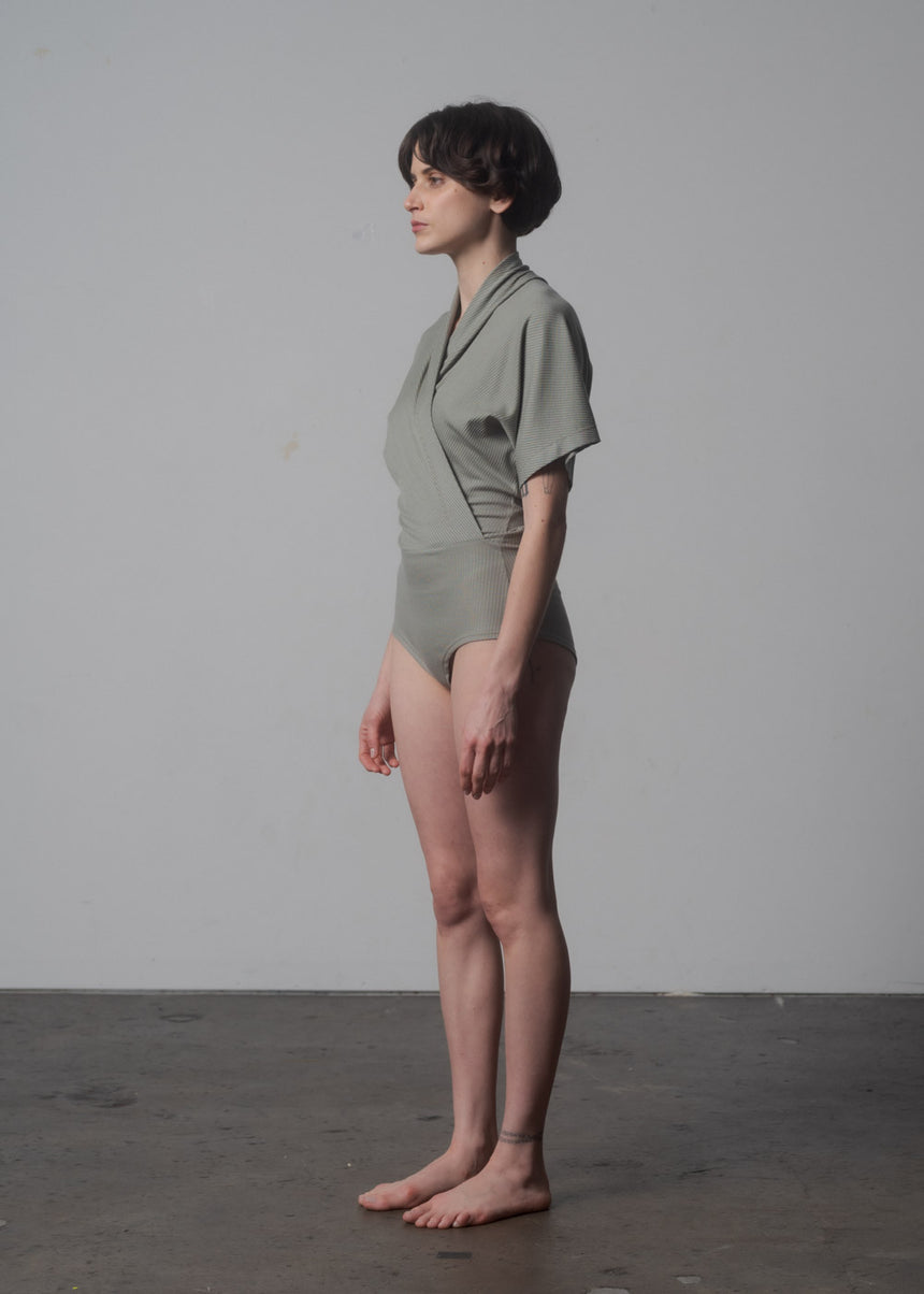 Nori Bodysuit in Sage
