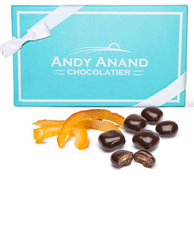 Andy Anand Vegan Dark Chocolate Covered Orange Peel