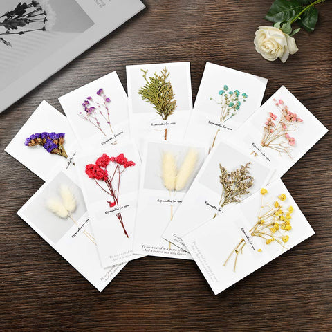 andyanand - Dried Flower Greeting Card, Free with Any Chocolate Purchase - Andyanand -