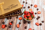 andyanand - California Strawberries covered with Rich Dark Chocolate - Andyanand - Dark Chocolate