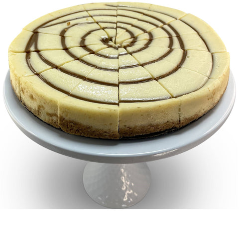 "Andy Anand Apple Caramel Cheesecake 9"" - 2 lbs"