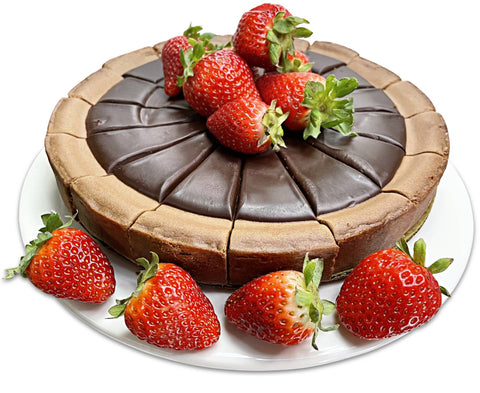 Andy Anand Triple Chocolate Cheesecake 9""